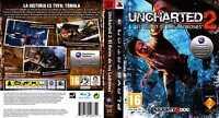 UNCHARTED 2 EL REINO DE LOS LADRONES PAL ESPAÑA 1ª edicion completo PS3