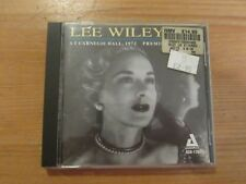 Lee Wiley - At Carnegie Hall 1972 CD Album (ACD-170)
