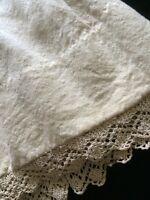 Antique Dolls Skirt Slip Teddy Bears Underwear Primitive 1/2 Slip