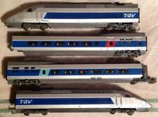 c LIMA - Scala H0 - Convoglio TGV Atlantique delle SNCF (4 componenti)