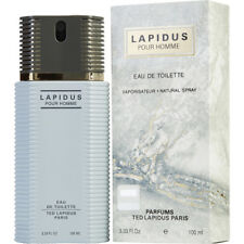 LAPIDUS POUR HOMME 100ml EDT SPRAY FOR MEN BY TED LAPIDUS ---------- NEW PERFUME