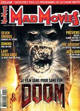 Cinéma Bis - Revue Mad Movies 180 - novembre 2005