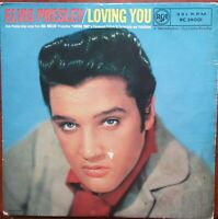 "ELVIS PRESLEY and the JORDANAIRES LOVING YOU 10"" LP RARE RCA Victor RC24001"