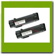 2PK NON-OEM BLACK Dell H825cdw H625cdw Smart S2825cnd Toner Cartidges