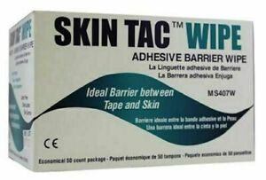Torbot Skin-Tac™ Adhesive Barrier Wipes - 50 count