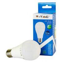 V-TAC VTAC LAMPADINA LED E27 10W BULBO GOCCIA BIANCO CALDO 2700K NUOVO IMBALLATO