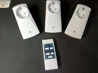 DUWI KITM 3PZ CON TELECOMANDO PRESA wireless MOD. D - 58339 TIPO B402A 433.92MHZ