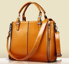 Women Leather Handbag Shoulder Bag Hobo Tote Purse Bucket Back Bags Lady Handbag