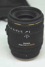 70mm Sigma EX DG F2.8 Macro Obiettivo digitale per fotocamere Sony/Minolta