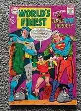 WORLD'S FINEST # 173 DC comic SUPERMAN-1st SILVER AGE TWO-FACE, BATMAN