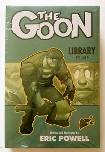 The Goon Library Vol. 5 NEW Hardcover Dark Horse Graphic Novel Comic Book