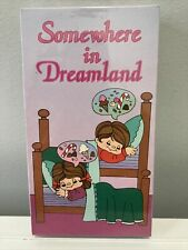 Somewhere In Dreamland Vhs Oop Sealed Rare Unicorn Christmas Video