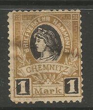 Germany/Chemnitz 1887 1 M local post Mi. 27