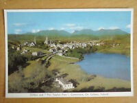 OLD POSTCARD OF CLIFDEN AND THE ' TWELVE PINS' CONNEMARA, CO. GALWAY, IRELAND