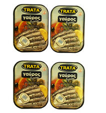 Greek Anchovies with Oregano in Oil Net Weight 400g