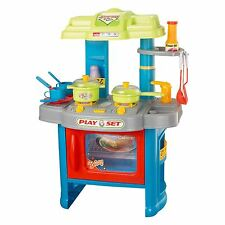 Children's Kids Power Tools Work Bench Kitchen Cooking Creative Role Play Toys