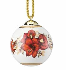 Rosenthal Versace ornament Christmas Blooms NEW