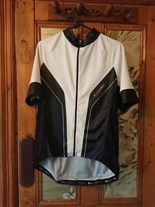 Specialized SL Expert black and white short sleeve cycling shirt XXL, VGC