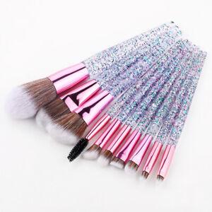 10Pcs Kabuki Make up Brushes Set Eye shadow Blusher Face Powder Foundation