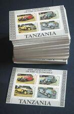 1986 Tansania; 500 Blocks Autos, postfrisch/MNH, Bl. 53, ME 900,-