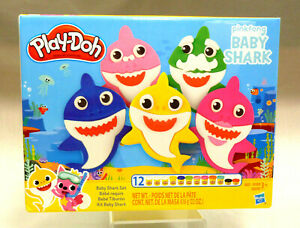 Play-Doh E8141 Pinkfong Baby Shark Set - 12 Pieces