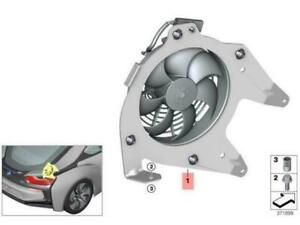 OEM BMW I8 COUPE REAR ELECTRIC FAN 17427639680 GENUINE NEW