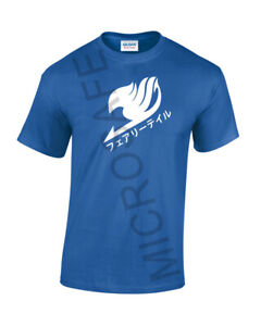 Unisex Novelty Gift Anime Awesome Fairy Tail Logo Custom Print T-Shirt   S - XL