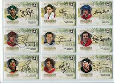 2010-11 ITG Decades 1980s Autographs  #ASS Steve Shutt
