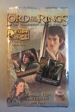 LORD OF THE RINGS (FELLOWSHIP) - Unopened pack Action Flipz (3D Lenticular) 2002
