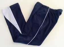 Soffe Womens Navy and White Splice Tricot Active Pants  B01-19