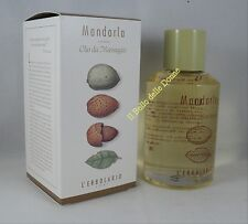 L'ERBOLARIO Olio da massaggio x il corpo MANDORLA 125ml Almond oil body massage