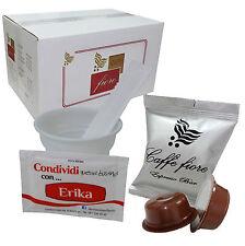 Cialde Capsule CAFFE compatibili Lavazza A Modo Mio KIT 100 Espresso Bar +Access