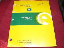 John Deere 9300T 9400T Tractor Operator's Manual