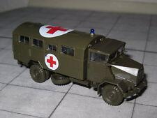 Herpa 744577 - MAN 630 - Mannschaftskoffer - Rotes Kreuz - Roco Minitanks 503