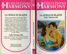 """COLLEZIONE HARMONY : Sally Wentworth """" LA SFIDA DI ELAINE """" GIUGNO 1997"""