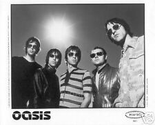 OASIS 8X10 PROMO PHOTO Noel Liam Gallagher Britpop #3