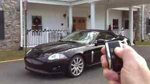 Jaguar XK XKR '07-'15 Remote Convertible Top, w/One Touch & Rear Window Control