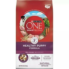 Purina ONE Natural Dry Puppy Food, Smart Blend Healthy Dry Dog Food Formula