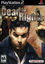 Dead to Rights PS2 New Playstation 2