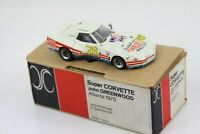 AMR Super CORVETTE John GREENWOOD Atlanta 1975 Die-Cast 1/43 Scale Built Kit