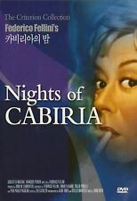 Nights Of Cabiria 1957 - Region 2 Compatible DVD (UK seller!!!) François NEW