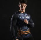 Super Héro Marvel Avengers homme compression t-shirt manches longues GYM SPORT