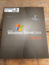 5er user CALS para Microsoft Windows 2003 Terminal Server con factura IVA