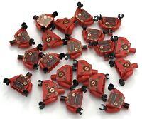 LEGO LOT OF 20 NEW RED NINJAGO NINJA TORSOS MINIFIGURE NINJA KAI PARTS