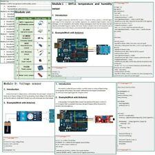 Sensor Module Starter Kit With Tutorial For Arduino Raspberry Pi Accessories New