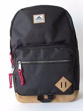 Steve Madden Classic BackPack Black Travel Bookbag Backpack