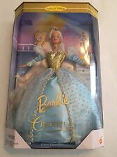 Collectible Fairytale 1996 Mattel Princess Barbie Cinderella Doll 16900 New