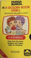 Hugga Bunch VHS A Golden Book Video-3 Stories-TESTED-RARE VINTAGE-SHIPS N 24 HRS