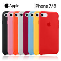 Funda silicona suave iPhone 7/8 Apple Silicone case MMWF2ZM/A