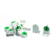 10Pcs Dual Terminals T5 T4 Fluorescent Tube Bulb Lamp Holder Socket W5M1 G2H2